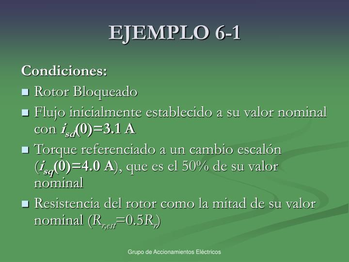 EJEMPLO 6-1