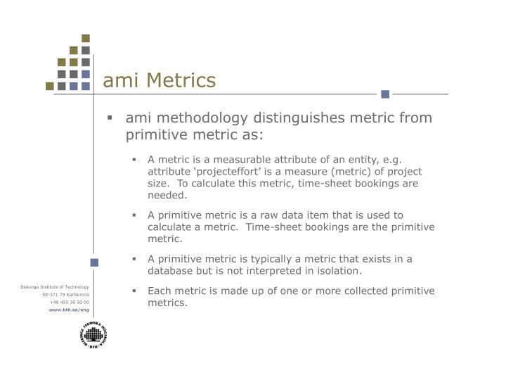 ami Metrics