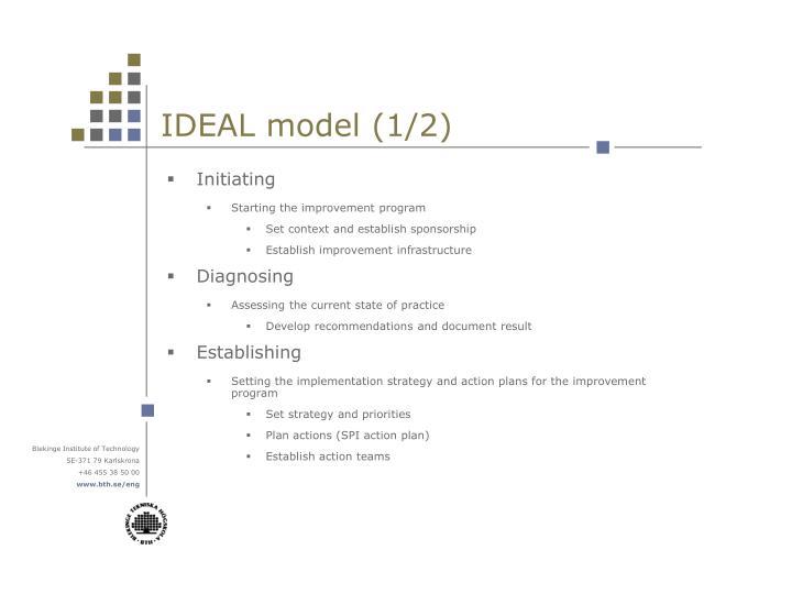 IDEAL model (1/2)