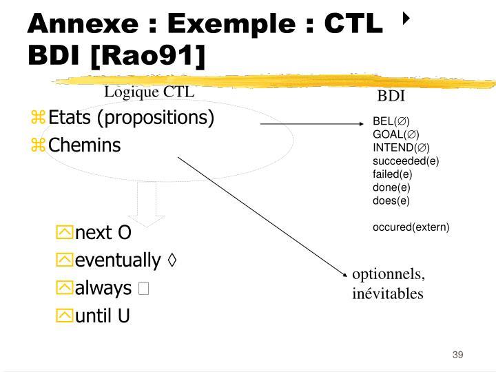 Annexe : Exemple : CTL