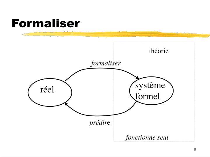 Formaliser