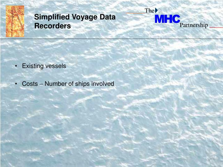 Simplified Voyage Data Recorders