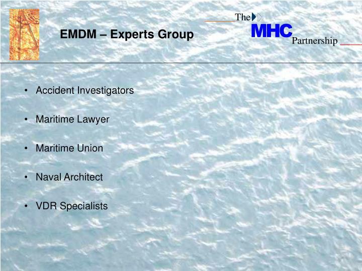 EMDM – Experts Group