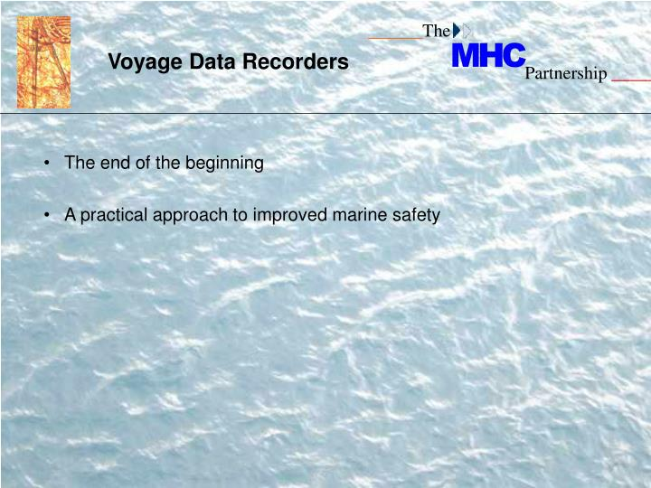 Voyage Data Recorders