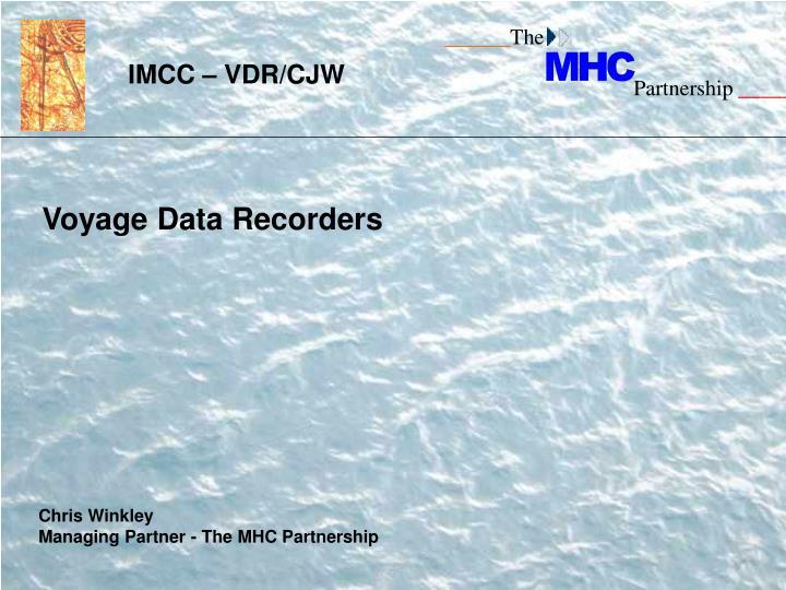 IMCC – VDR/CJW
