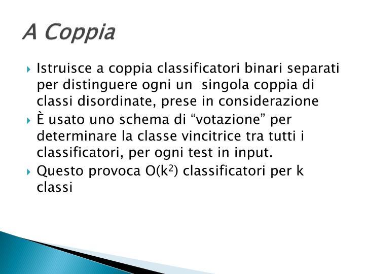 A Coppia