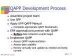 qapp development process