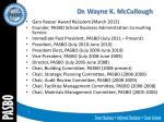 dr wayne k mccullough