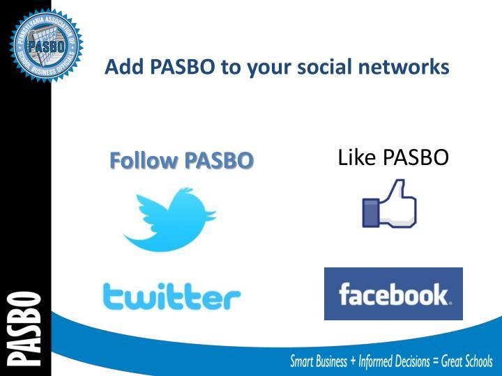 Follow PASBO
