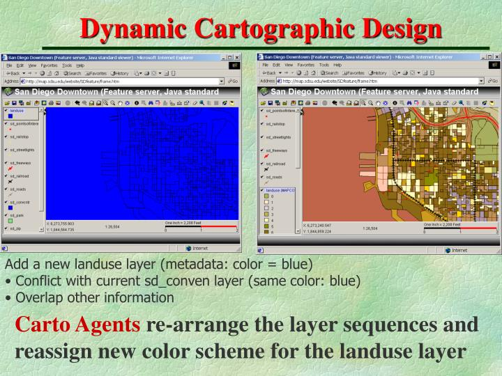 Dynamic Cartographic Design