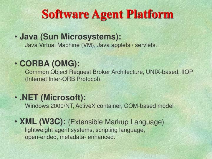 Software Agent Platform