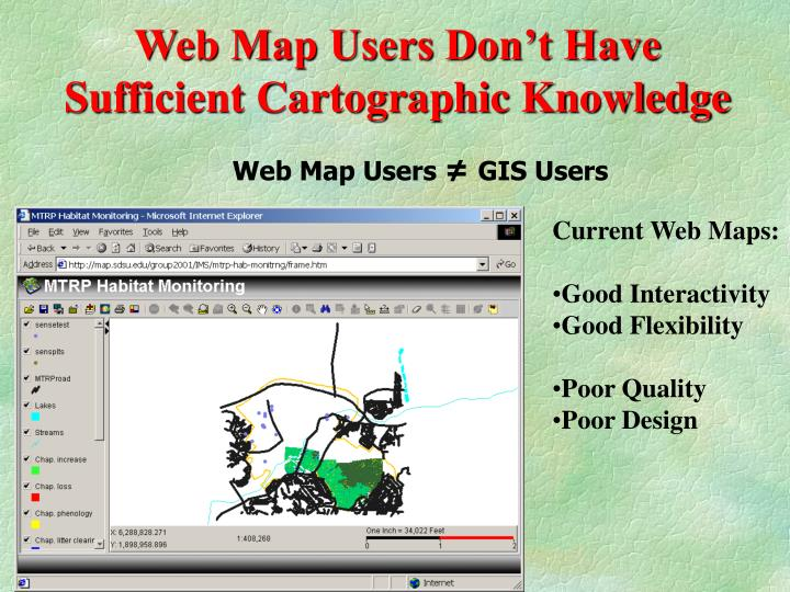 Web Map Users Don't Have Sufficient Cartographic Knowledge