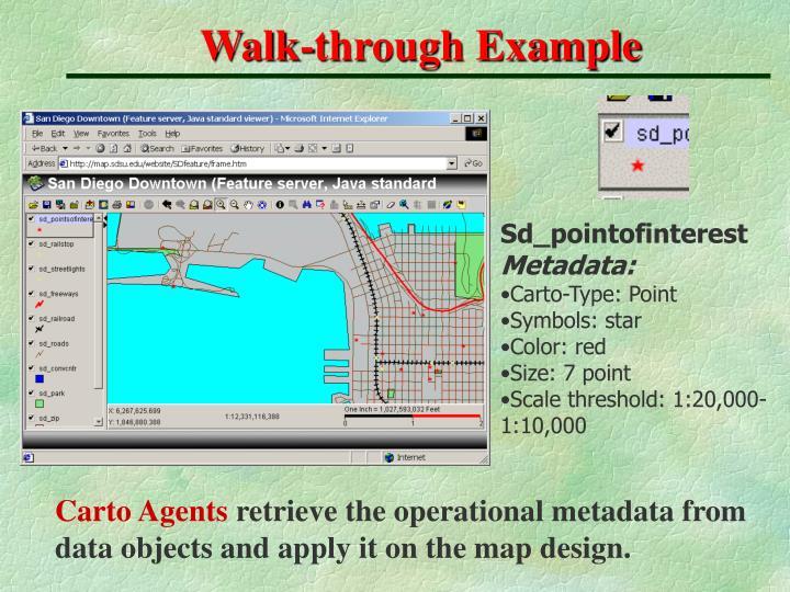 Walk-through Example