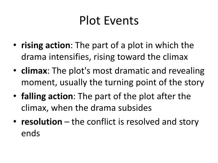 Plot Events