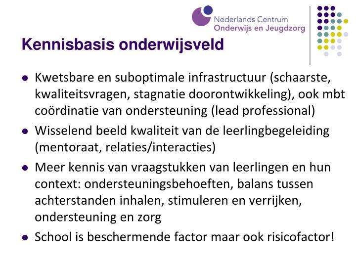 Kennisbasis onderwijsveld