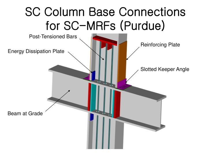 SC Column Base Connections