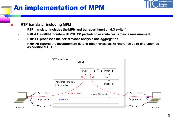 An implementation of MPM