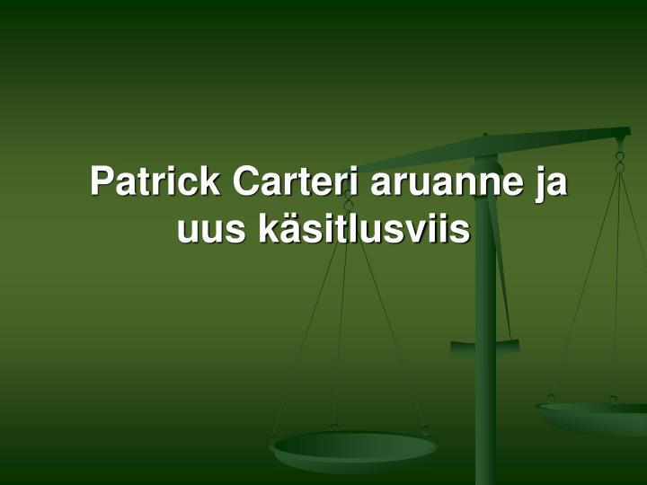 Patrick Carter