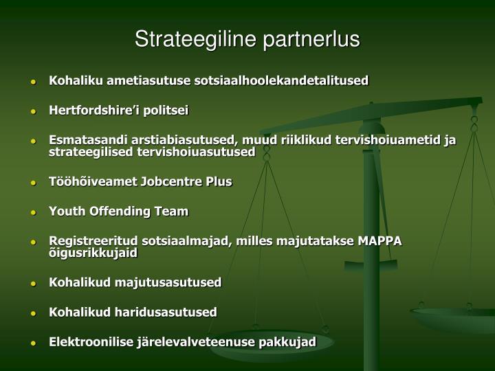 Strateegiline partnerlus