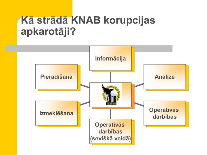 Kā strādā KNAB korupcijas apkarotāji?