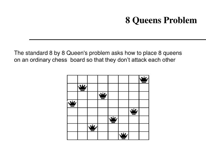 8 Queens Problem