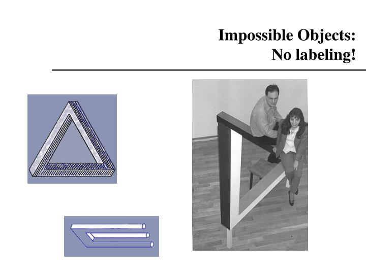Impossible Objects: