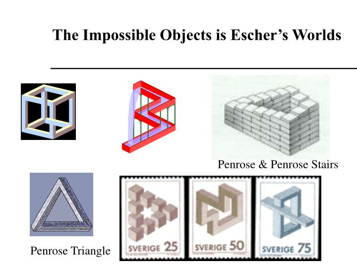The Impossible Objects is Eschers Worlds