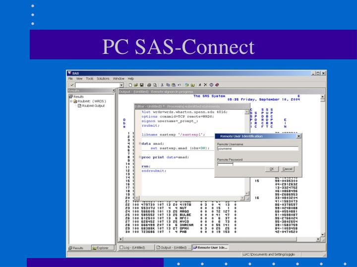 PC SAS-Connect