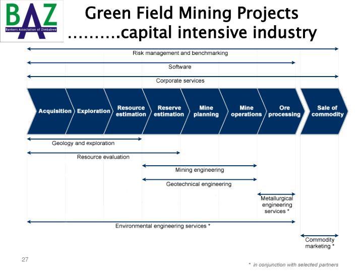 Green Field Mining Projects