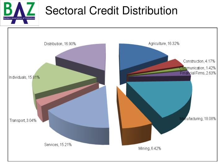 Sectoral Credit Distribution