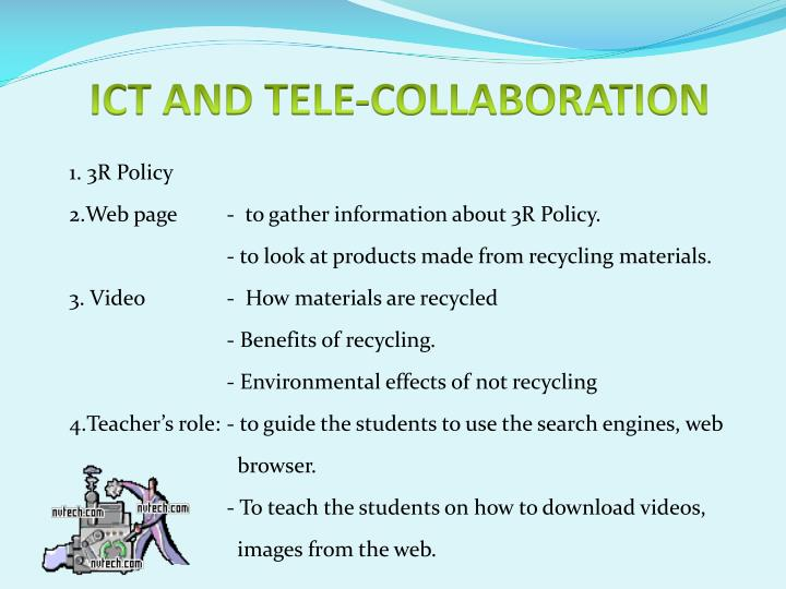 ICT AND TELE-COLLABORATION