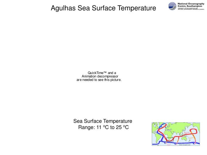Agulhas Sea Surface Temperature