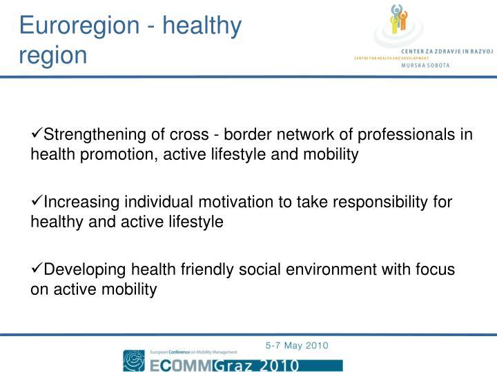Euroregion - healthy region