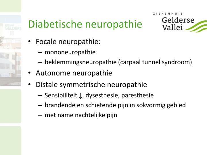 Diabetische neuropathie
