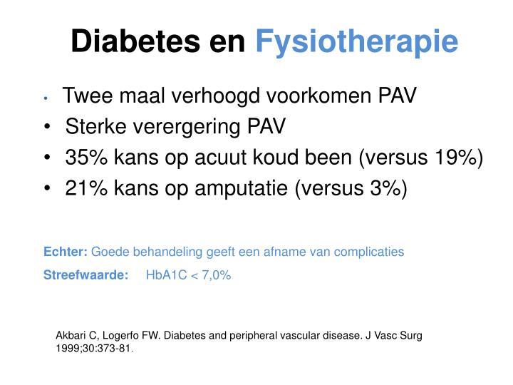 Diabetes en