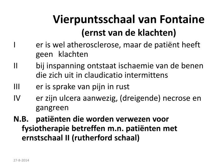 Vierpuntsschaal van Fontaine