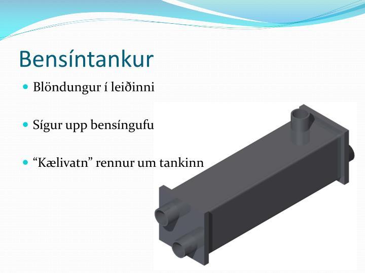 Bensíntankur
