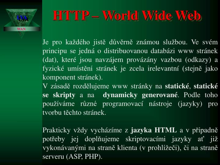 HTTP – World Wide Web