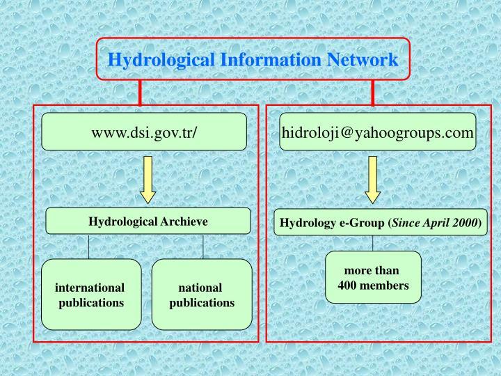 Hydrological Information Network