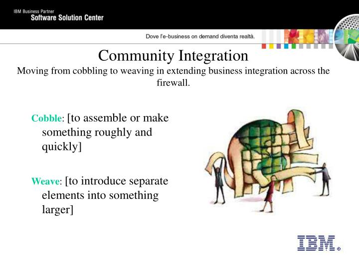Community Integration