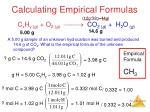 calculating empirical formulas2