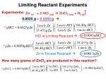 limiting reactant experiments1