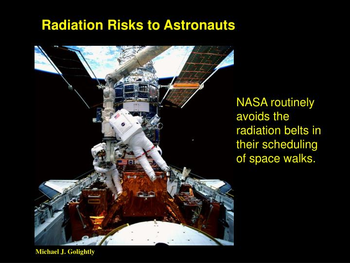 Radiation Risks to Astronauts