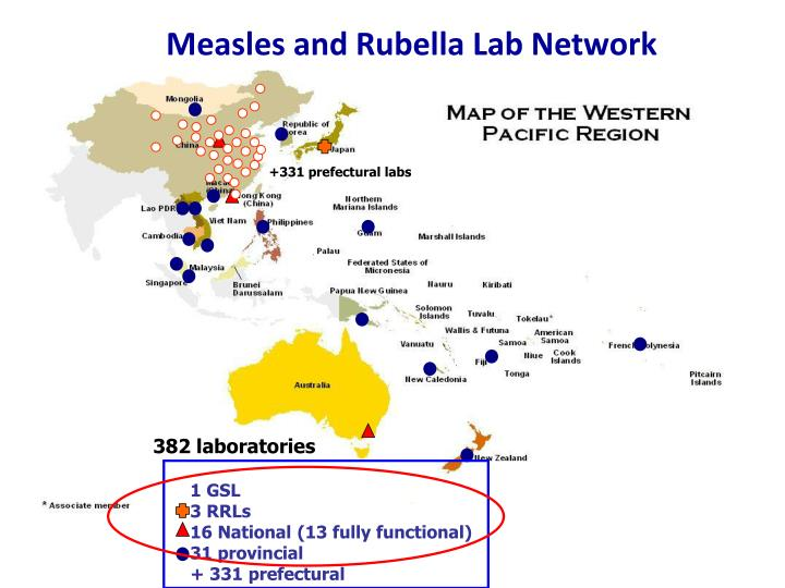 Measles and Rubella Lab Network