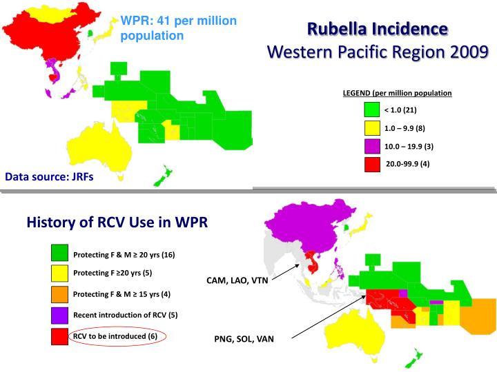 WPR: 41 per million population