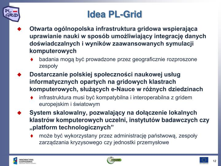 Idea PL-Grid