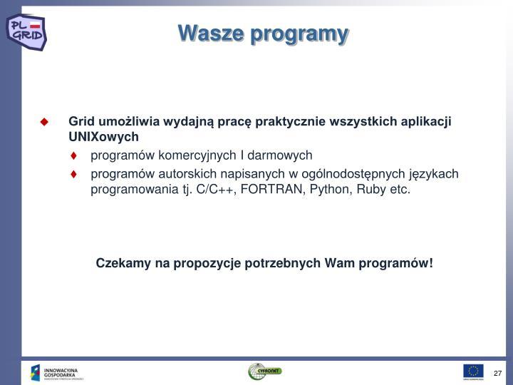 Wasze programy