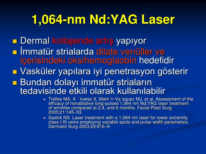 1,064-nm Nd:YAG Laser