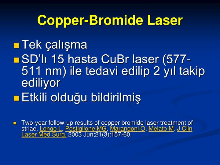 Copper-Bromide Laser