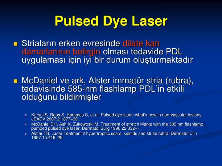 Pulsed Dye Laser